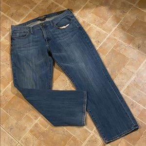 Lucky Brand original straight leg jeans size 36/30